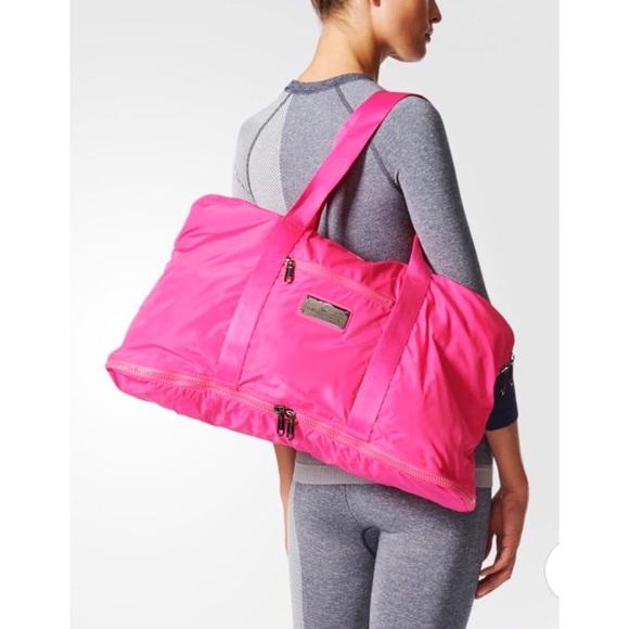 Adidas by Stella McCartney Pink Yoga Bag 47708ff523350